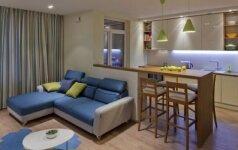 Interjeras jaunai šeimai: spalvingi ir jaukūs namai