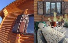 Darau pats: estetiškos langinės sodybai ir namams