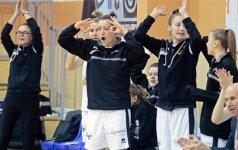 """""""Kibirkštis"""" pateko tarp geriausių Rytų Europos moterų komandų"""