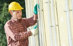 Vėdinamųjų fasadų sistemų karkasai, jų montavimas ir klaidos
