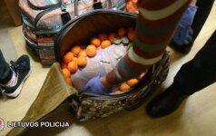 Su keturiais kilogramais narkotikų sučiupta užsienietė keliauja į teismą