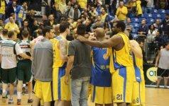 """""""Maccabi"""" klubas eliminuotas Izraelio čempionato pusfinalyje"""