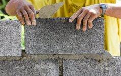 Darau pats: būdas, kaip statyti sienas iš statybinių blokelių