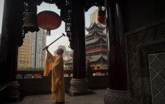 """Vienuolis bėglys: kinų """"žudikas"""" tapo šventyklos abatu"""