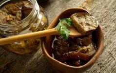 Baklažanai kaip grybai – gardesnio ir paprastesnio recepto nesu girdėjusi!