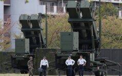 Japonija dislokavo priešraketines Patriot