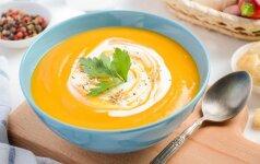 Kaip pagaminti skanią trintą sriubą?