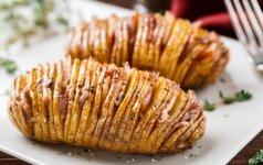Idėjos vakarienei: viskas iš bulvių
