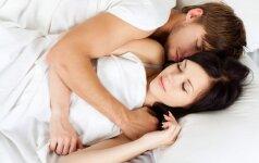 Ką jūsų miegojimo būdas sako apie jus? +APKLAUSA