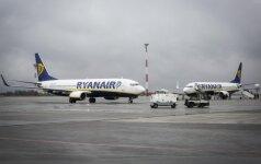 """""""Ryanair"""" skraidins iš Vilniaus į Lidsą"""