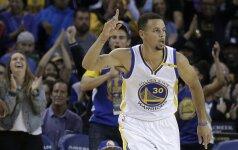Prieš NBA startą – dar vienas S. Curry ir K. Duranto šou