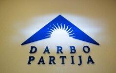 Darbo partija rinks pirmininką