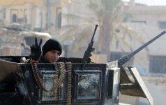 """Lūžio taškas: Irako pajėgos šturmuoja """"Islamo valstybės"""" kovotojų bastioną"""