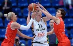 G. Petronytė moterų Eurolygoje pelnė 17 taškų