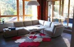 Vyriškas 72 kv.m. butas Vilniuje, kurio dizainą įkvėpė golfo žaidimas