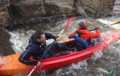 Garsus Lietuvos alpinistas mes iššūkį vandens pramogų mėgėjams