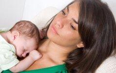 Dažna pagimdžiusios moters problema, kurios ji gali ir nepastebėti