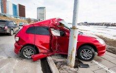Šiemet keliuose žuvusių – mažiau nei pernai