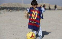 L. Messi fanas, penkiametis afganistanietis Murtaza Ahmadi