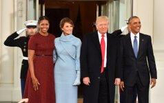 Akivaizdžiausias Trumpų ir Obamų skirtumas: kūno kalba atskleidė daugiau nei žodžiai