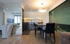 70 kv.m. butas Palangoje: lietuvės dizainerės patirties iš Dubajaus įamžinimas