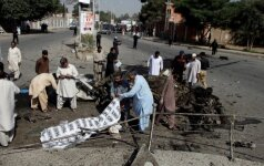 Benzinvežio sprogimo Pakistane aukų skaičius išaugo iki 173