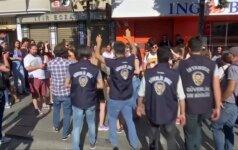 Policija sulaikė kelis asmenis LGTB eisenoje Stambule