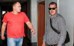 Gintaras Tumėnas (kairėje) ir Mindaugas Matukas