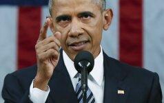 """B. Obama paskelbė kibernetinio saugumo """"veiksmų planą"""""""