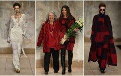 Lauros Biagiotti kolekcijos pristatymas Milano mados savaitės metu