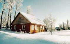 Kaip žiemą apsaugoti sodo namelius ir sodybas?