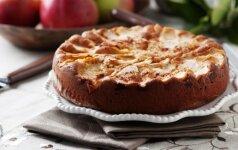 KEPAM: obuolių ir chalvos pyragas (tik 6 ingredientai!)