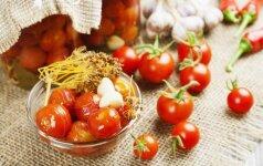Marinuoti pomidorai – GREITUKAI