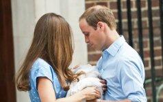 Princas Williamas pagaliau prabilo apie tai, kaip jaučiasi Kate Middleton ir mažoji Charlotte