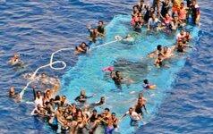 Italijos karinis jūrų laivynas Viduržemio jūroje rado 45 skenduolius