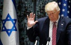 JAV padidino karinę paramą Izraeliui