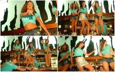 Realybės šou dalyviai atsipalaidavo: merginų šokiai ant baro ir linksmybės iki paryčių