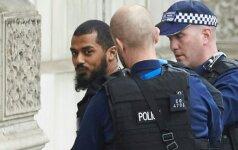 Londone prie Parlamento policijos pajėgos sulaikė įtariamą teroristą