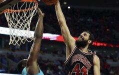 Į Ispanijos rinktinę nepatekęs N. Mirotičius siaučia NBA