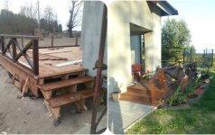 Darau Pats: terasos įsirengimas už 1000 eurų