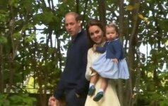 Princesė Charlotte Kanadoje ištarė pirmąjį žodį viešumoje