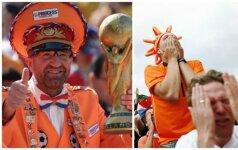 Winfriedas Witjesas, Nyderlandų futbolo fanai (Instagram, AFP-Scanpix nuotr.)