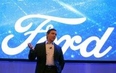 Ford vadovas Markas Fieldsas