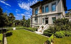 Svajonių namai: Art Nouveau stiliaus vila ant didžiausio Italijos ežero kranto