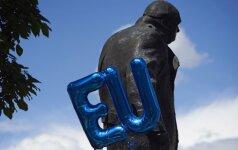 """ES skyrybų sąskaita gali sužlugdyti """"Brexit"""" susitarimą"""