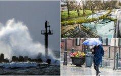 Jei nieko nedarysime, laukia grėsmingi pokyčiai: didžiuliai vėjai, alinantis karštis ir užlieta Klaipėda