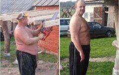 56 kg atsikratęs Gintaras: pirkdavau ne drabužius, o palapines