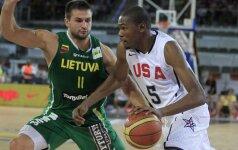 Lietuvos krepšininkai Londono olimpiadoje žais vienoje grupėje su JAV rinktine