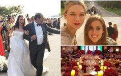 Vestuvių puotos akimirkos
