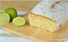 Kokosinis žaliųjų citrinų keksas